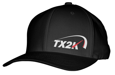 TX2K Black Flex Fit Hat