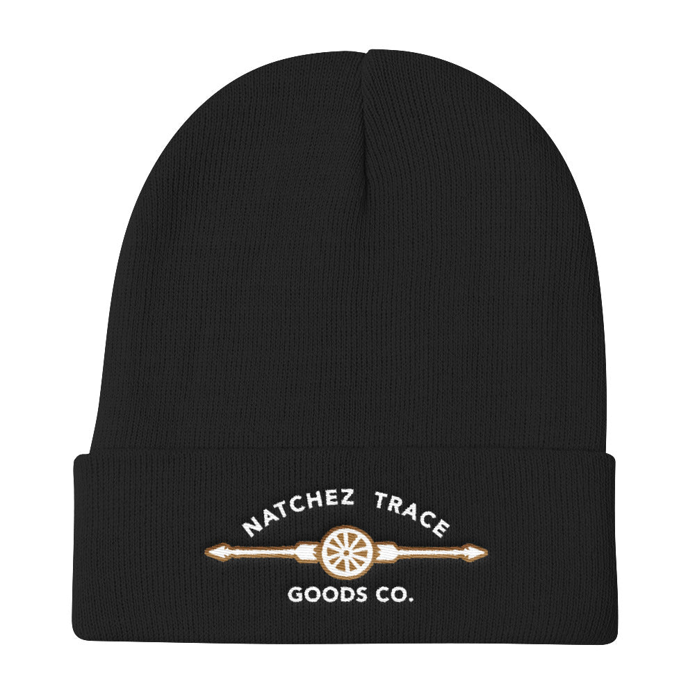 Sequoia Embroidered Knit Beanie