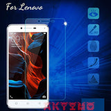 0.26mm Clear Premium Tempered Glass Film For Lenovo Vibe P1M P70 S90 S60 S660 A2010 A536 S580 K5 A6010 A6600 Plus K6 Power Case