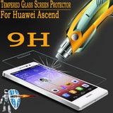 0.26mm Tempered Glass For Huawei Ascend P6 P7 P8 P9 Lite P10 2017 Honor 6 7 8 4C 4X 5X 5A LYO-L21 6X 5C Y3 Y5 Y6 2 II Pro Case