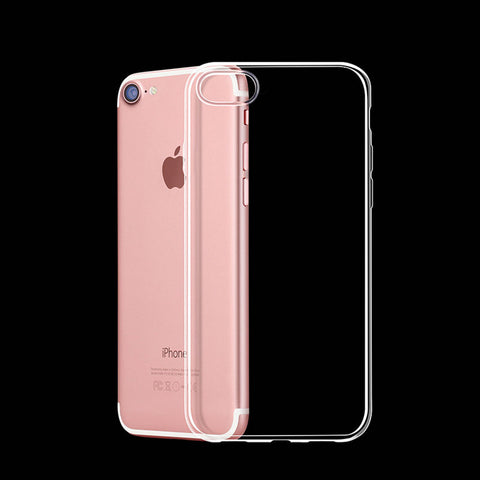 0.3mm Ultra Thin Slim Crystal Soft Silicon Gel Case Transparent Phone Cover For iPhone 7 7 Plus 6 6S Plus 5 5s SE 4 4S