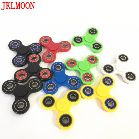 10 Colors Tri-Spinner Fidget Spinner Toy EDC Hand Spinner for Autism and ADHD Ceramic Kids Adults Relieve Stress Toys