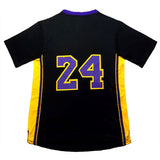 100% stitched K obe 33# jersey men's #24 Kobe basketball jerseys Cheap wholesale Youth Kid Kobe #8 Embroidery Logos Free Shipping