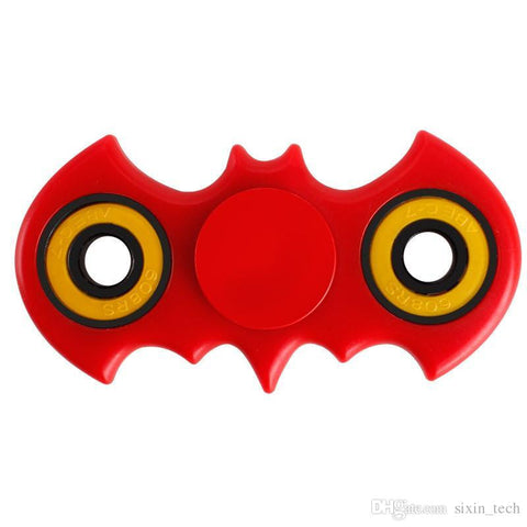 1000Pcs! ABS Bat Fidget Spinner HandSpinner Hand Spinner Finger EDC Toy portable Decompression Anxiety cheapest fidget spinner Toys