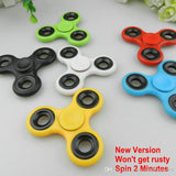 10pcs/lot DHL Free Shipping Tri-Spinner Fidget spinner ToyABS Plastic EDC Hand Spinner For Autism and ADHD Rotation Fidget toys