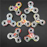 10pcs/lot epackt New Styles camo Fidget Spinner High Quality EDC batman Hand Spinner glow in the dark fidget toys