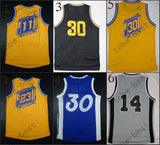 #11 #23 #30 #14 2015 Cheap Rev 30 Basketball Jerseys Embroidery Sportswear Jersey S-3XL 44-56 free shipping