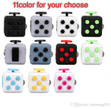 11 color 2017 New Fidget Cube The World's First American Original Decompression Anxiety Toys With Retail Box Packing