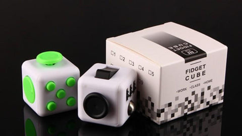 11 Color Fidget Cube 2017 New Magic Fidget Spinner Adults Relief Stress the World's First Decompression Anti-anxiety Gift Novelty Toys