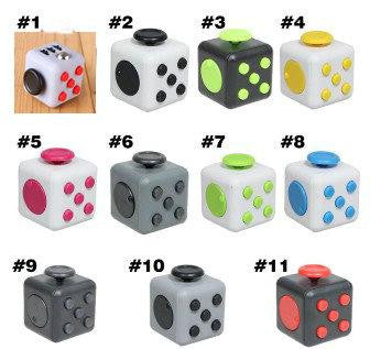 11 Color Fidget Cube 2017 New Magic Fidget Spinner Adults Relief Stress the World's First Decompression Anti-anxiety kids Gift Toys