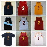 11 Color Style # 2 Men's basketball Jersey, Cheap Sale wholesale men sports basketball jerseys Size: S-XXL