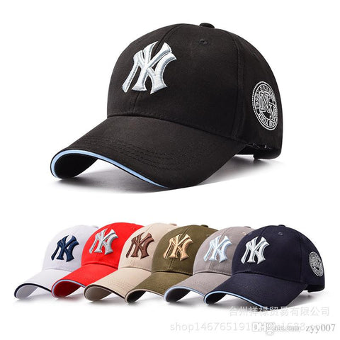 11 Color Yankees Hip Hop MLB Snapback Baseball Caps NY Hats  Unisex Sports New York Adjustable Bone Women casquette Men Casual headware