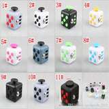 11 colors 2017 New Fidget cube the world's first American decompression anxiety Toys Free shipping B1049-1