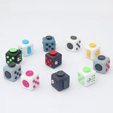 11 Colors Novelty Fidget Cubes American Decompression Anxiety Toys Adults Stress Relief Kids Gift Free shipping