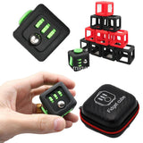 10PCS Funny Environmentally ABS Fidget Cube Toy Protect Case Magic Cube Black Gift Box Kids Decompression Anxiety Toys for ADHD