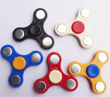 1000pcs Triple Fidget Spinner Toy Plastic EDC For Autism ADHD Big Kids Adults Funny Anti Stress Decompression Hand Finger Spinner Gift Toy
