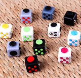 11 Colors Magic Fidget cube the world's first American Anti-anxiety Decompression Toy Adults Stress Relief Kids Toy Gift DHL Free