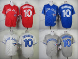 toronto blue jays #10 edwin encarnacion 2015 Baseball Jersey Cheap Rugby Jerseys Authentic Stitched Free Shipping Size 48-56