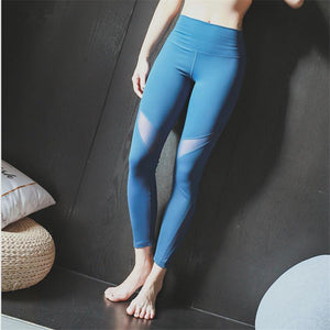 Clara Prussian blue leggings