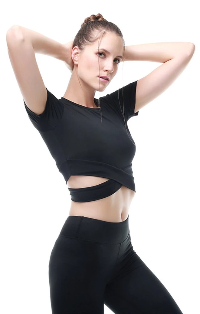 Artist Yoga Crop Top