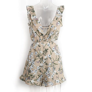 Ruffle Sweet Floral dress -  - MySwaggs