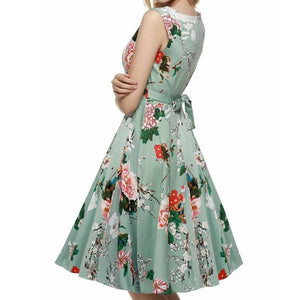 Harmony floral green dress - dress - MySwaggs