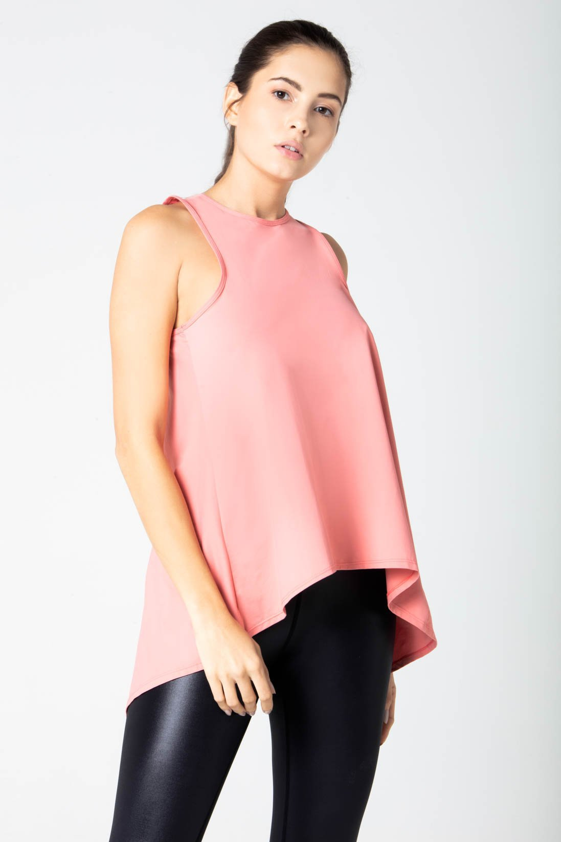 Natasha back tie top tank