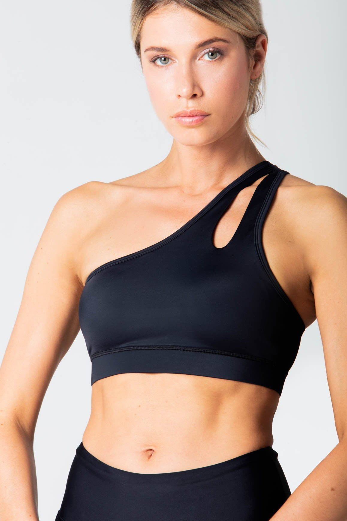 One Shoulder Sport Bra