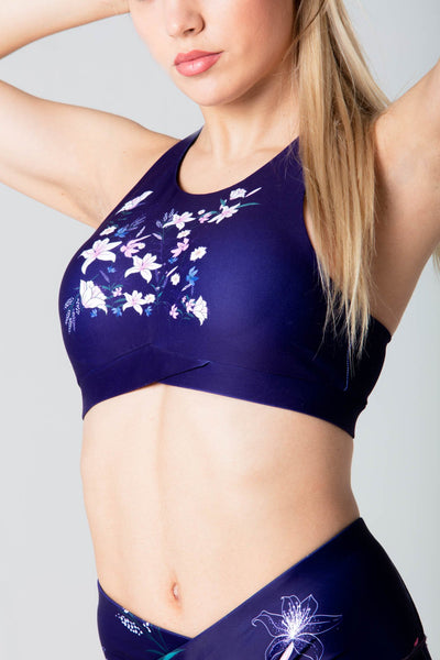 Florida flower bra
