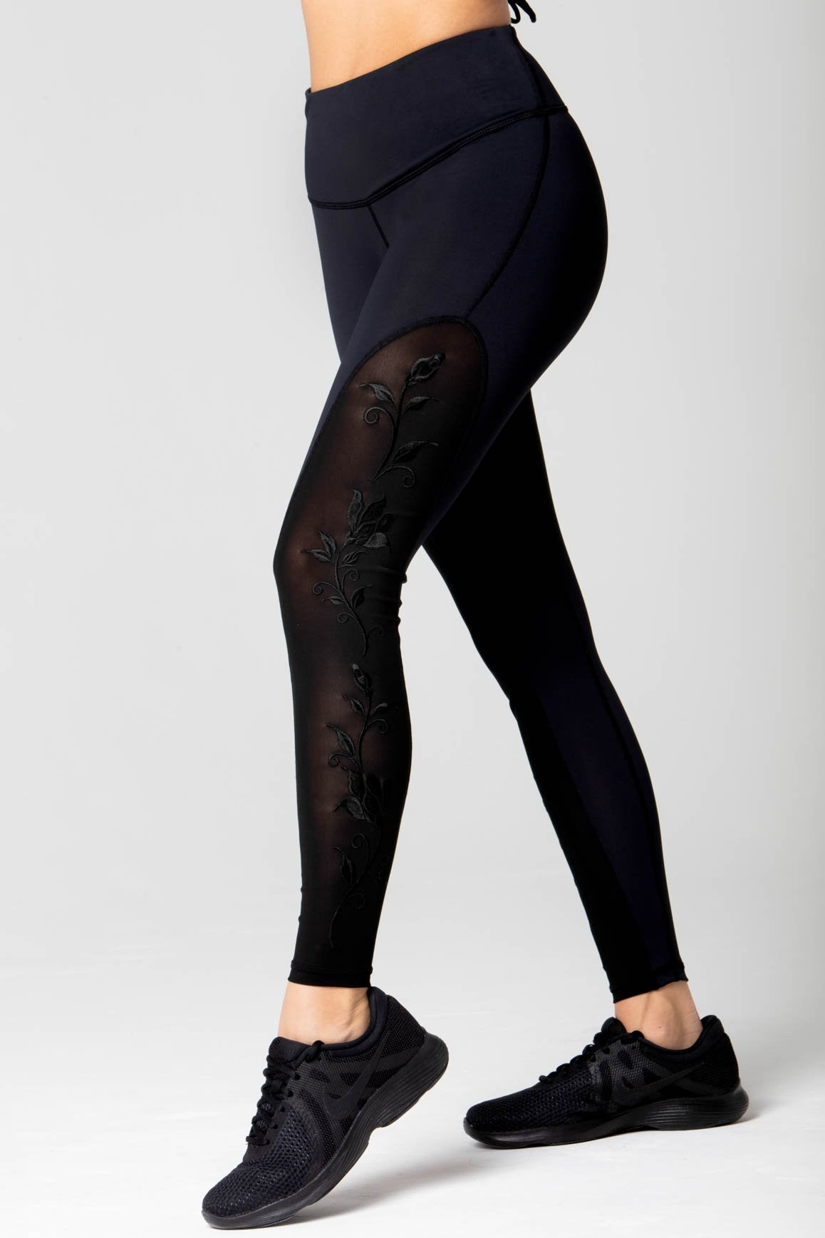 Marie floral embroidery Legging