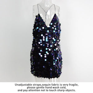 Mallorca Sequin Backless sundress -  - MySwaggs