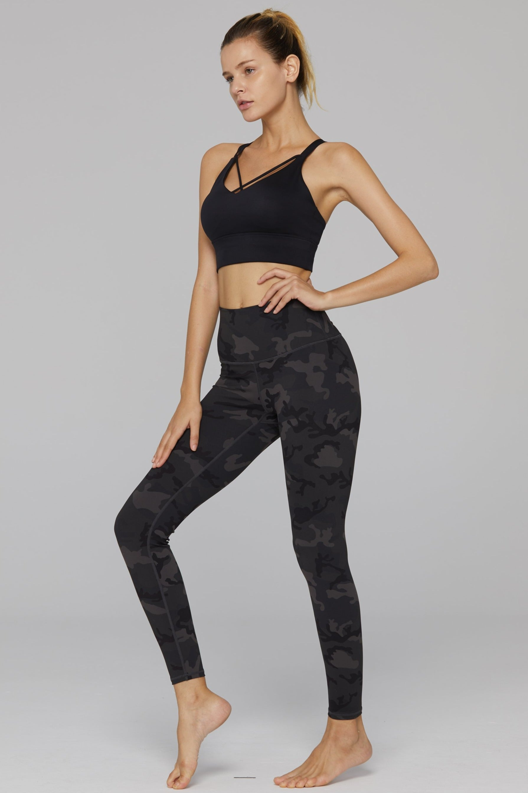 Camo High Waist Legging