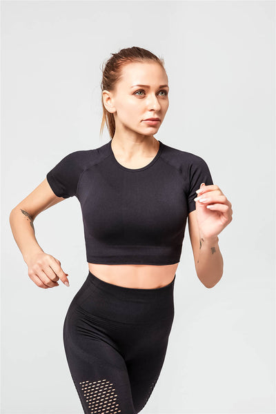 Nakata Black Seamless Set