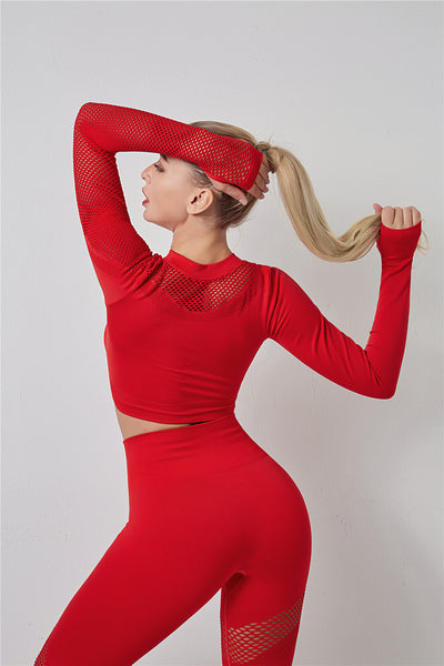 Nakata Red Seamless Set