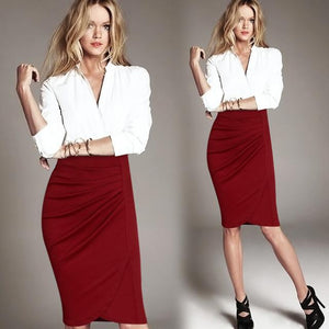 Pleated Frill Skirt -  - MySwaggs