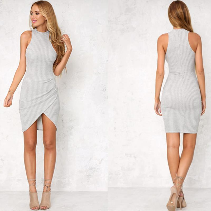 Fiora Casual bodycon dress - dress - MySwaggs