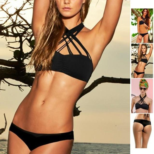 Strappy Hollow out bikini -  - MySwaggs