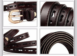 Joker Hollow Out Genuine Leather Belt - belts - MySwaggs