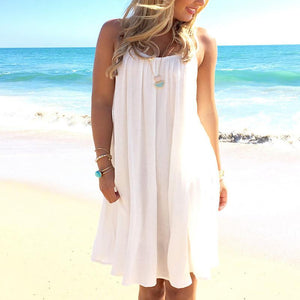 Cute Lace Hollow Crochet dress -  - MySwaggs