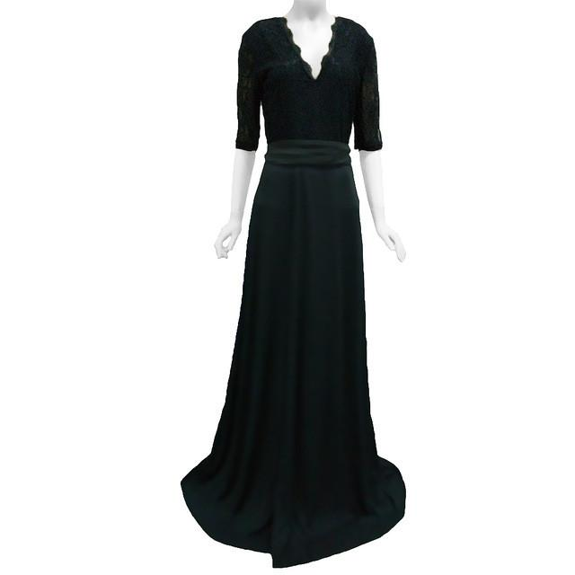 Diane Side Slit Long Dress -  - MySwaggs