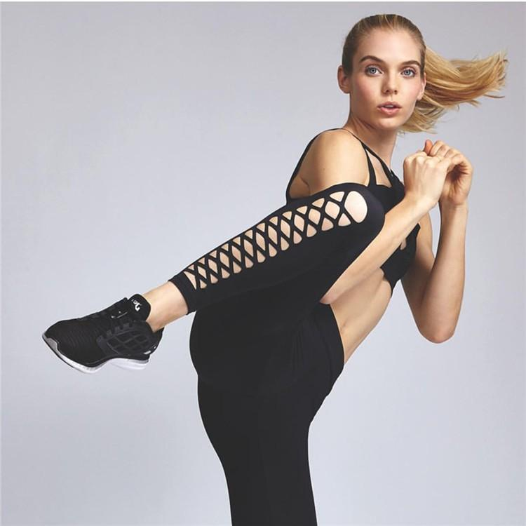 Dallas Hollow Bandage Yoga Pants