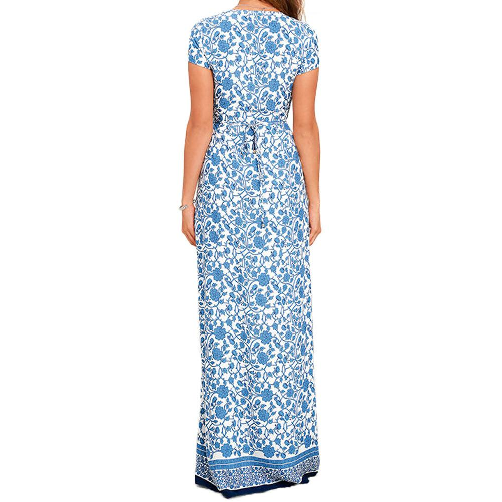 Marrakech maxi Floral dress -  - MySwaggs