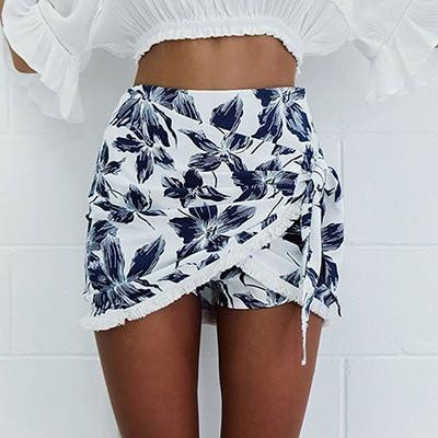 Floral wrap Skirt -  - MySwaggs