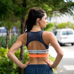 Hollow out Running Bra