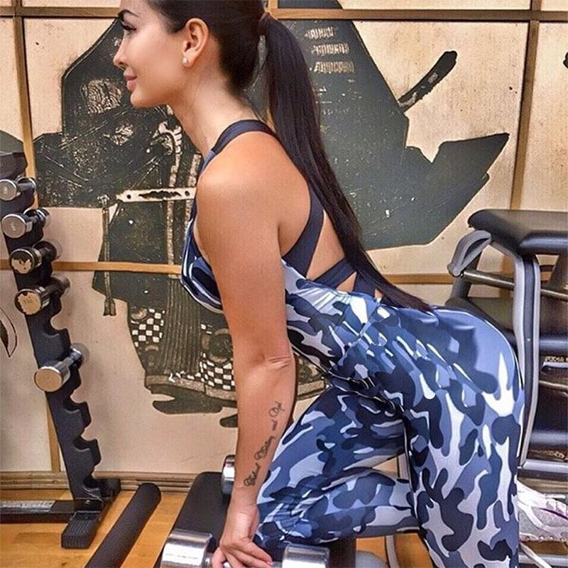 Camouflage Yoga Sport Suit