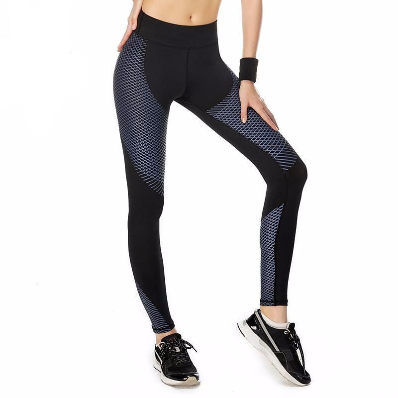 High Performance crossed layers Leggings