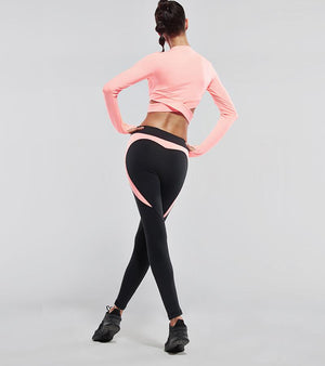 Heart Booty Yoga Lift up Pants with Active Tush Trainer™