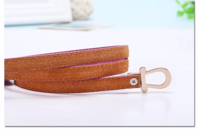 Serpentine Thin Belt for dresses-adjustable - belt - MySwaggs