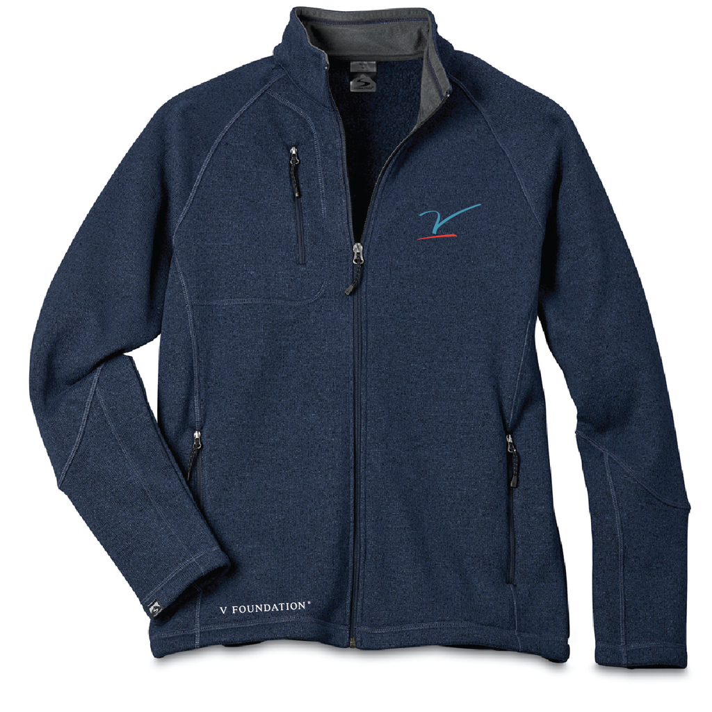 Men's Navy Sweater Fleece