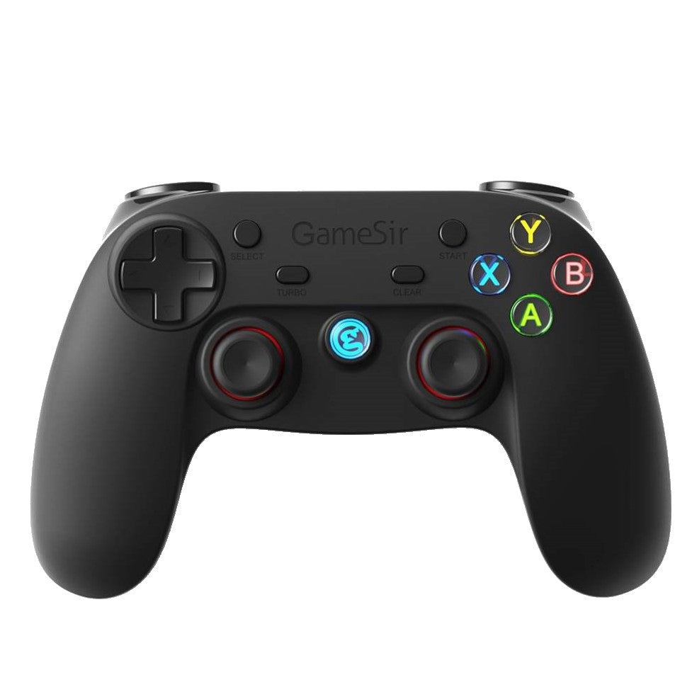 GameSir G3s Enhanced Edition Wireless Gamepad 2.4GHz Bluetooth 4.0 Connection Game Controller for iOS/Android/Windows/PS3 - Black